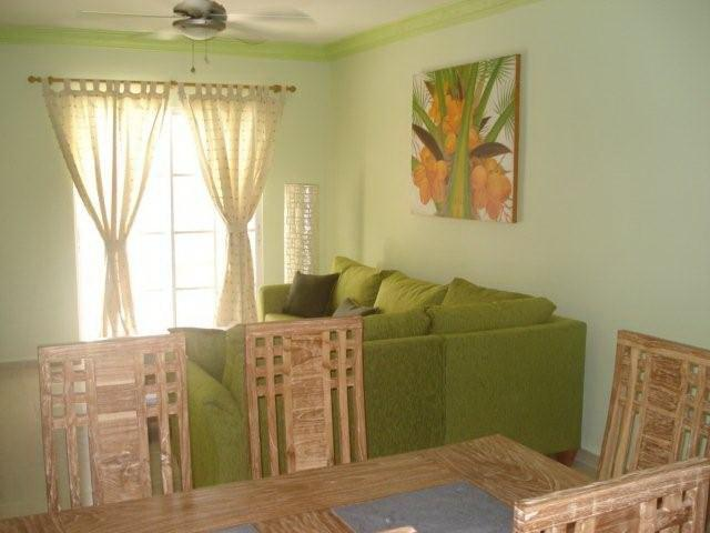 Living Room - Palm Suites E-1 Stylish & Charming Condo Near the Beach - Bavaro - rentals
