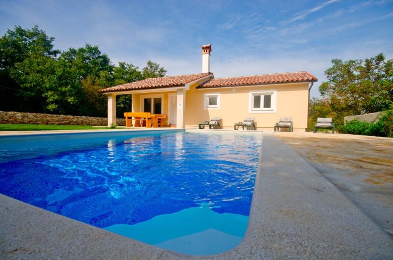 Romantic and peaceful Villa with pool- Villa Darko - Image 1 - Svetvincenat - rentals