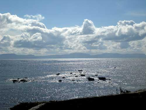 The sea view from the house - Donegal Beach House with stunning sea views. - Donegal - rentals