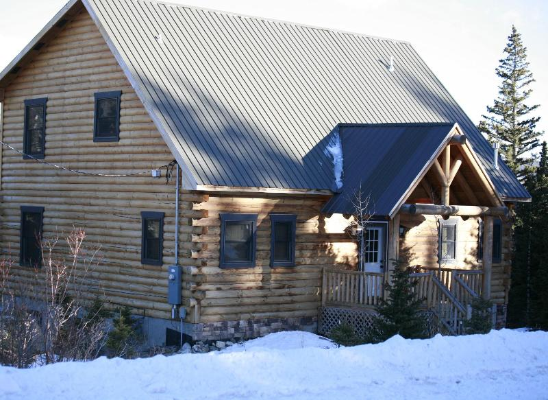 View from the road - Luxury Secluded Mountain Cabin near Breckenridge - Fairplay - rentals