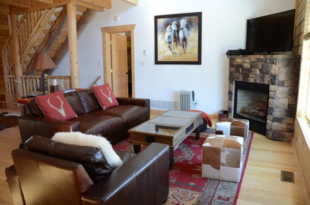 living room - Luxury Secluded Mountain Cabin near Breckenridge - Fairplay - rentals