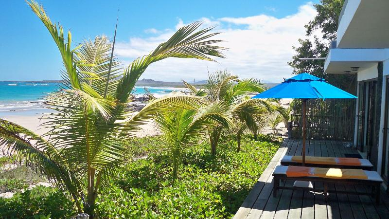 Outside Deck - Beach Front Ocean View, Mi Playa-Isabela - Puerto Villamil - rentals