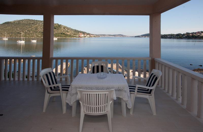Sea view - Beach luxury apartment - Rogoznica - rentals