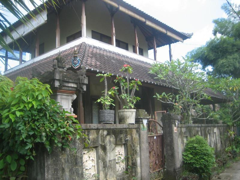 Front of Rinin House - Rinin Tranquility House - Ubud - rentals
