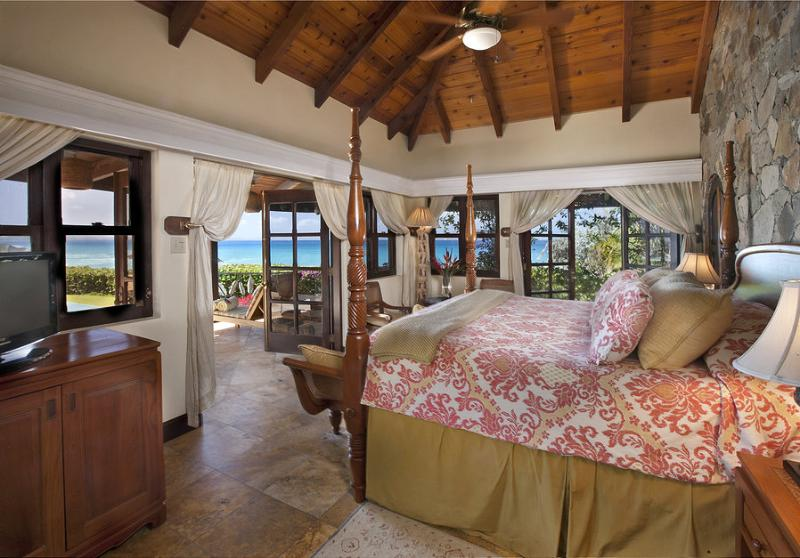 Bedroom - Sol Y Sombra - Guana Island - rentals