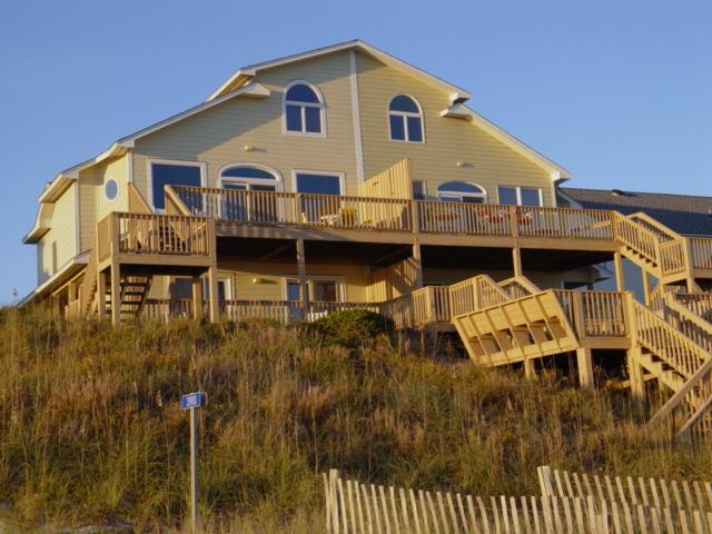 Exterior - Alpha- West - Emerald Isle - rentals