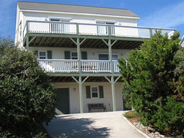 Exterior - 2 Seas the Day - Emerald Isle - rentals