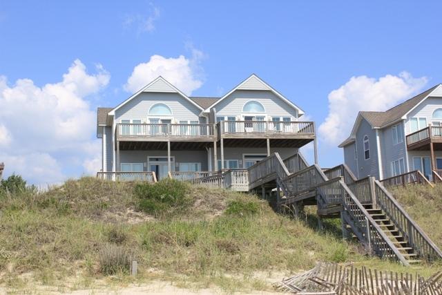 Exterior Oceanfront - Cottage West - Emerald Isle - rentals