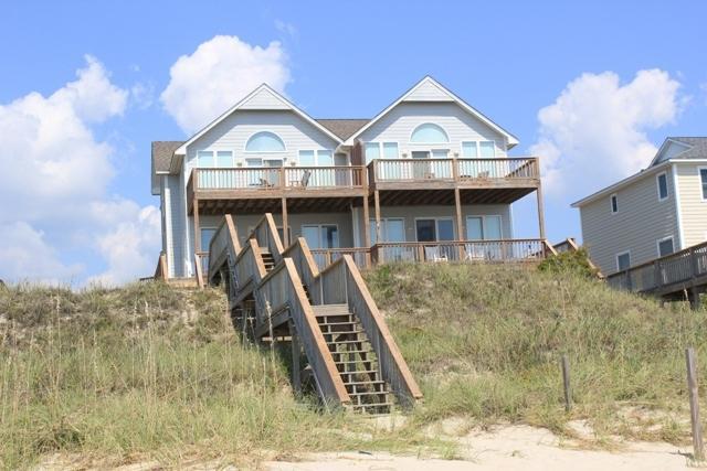 Oceanfront Exterior  - Kilpatrick West - Emerald Isle - rentals