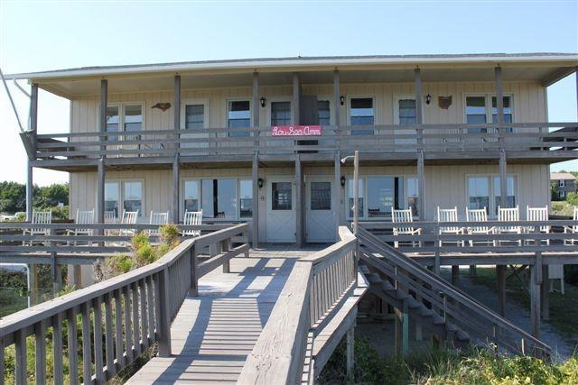 Exterior- Oceanfront - Lou Sea Ann-East - Emerald Isle - rentals