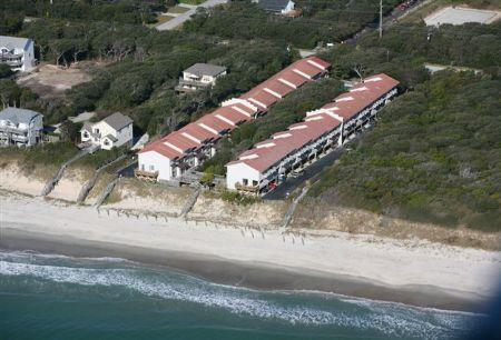 Aerial View of Ocean Glen - Ocean Glen 11 West- 3BR - Pine Knoll Shores - rentals