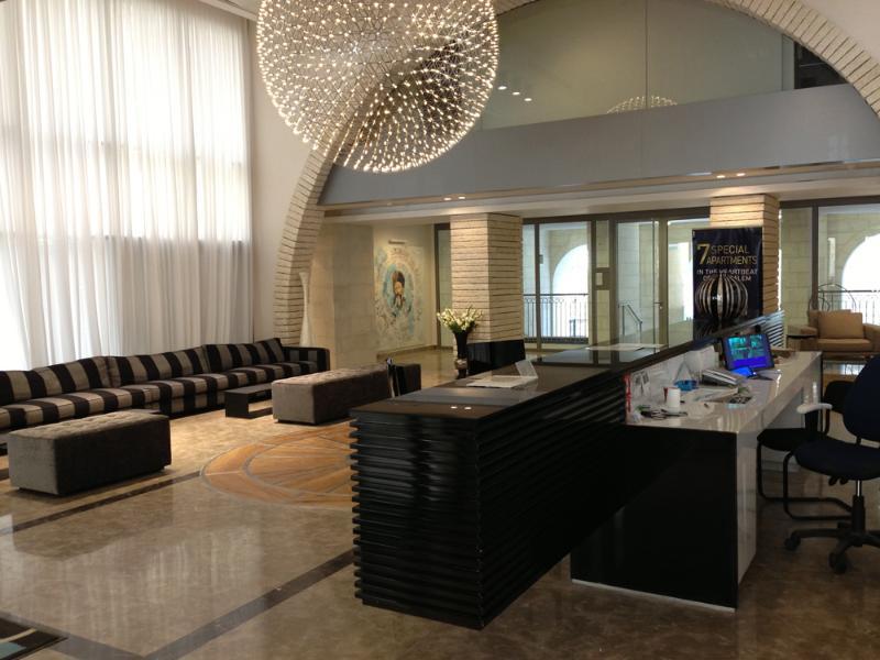 Elegant Lobby - Elegant Kosher Apartment - Jerusalem - rentals