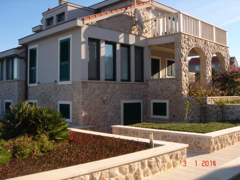Outside of Villa Lucija - Lovely Apartment on the Island of Murter town of Betina, Croatia - Betina - rentals