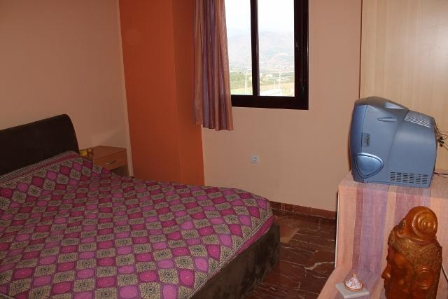 Spacious attic apartment with mountain views in Benamocarra. - Image 1 - Benamocarra - rentals