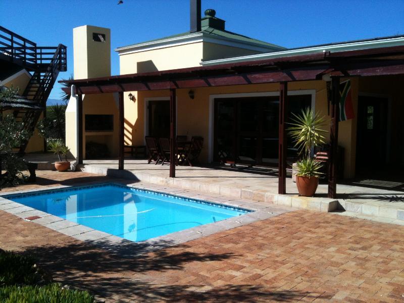 African lodge wrapped around the heated pool - African style villa in beautiful Riebeek Valley - Riebeek Kasteel - rentals