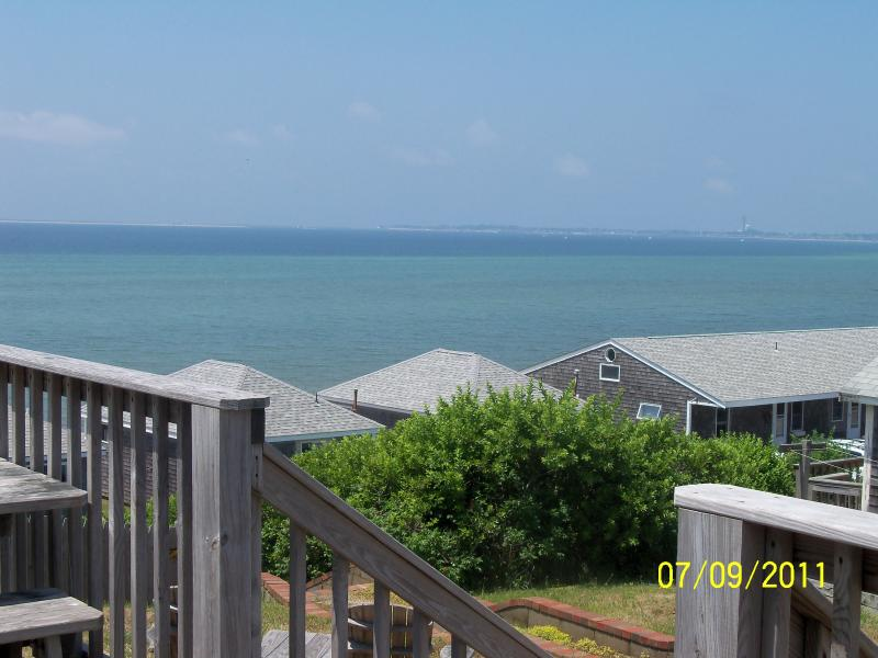 View from Deck - Discount if booked before 3/1!Oceanview 2 Bedroom / 2 Bath Condo - Private Beach - North Truro - rentals