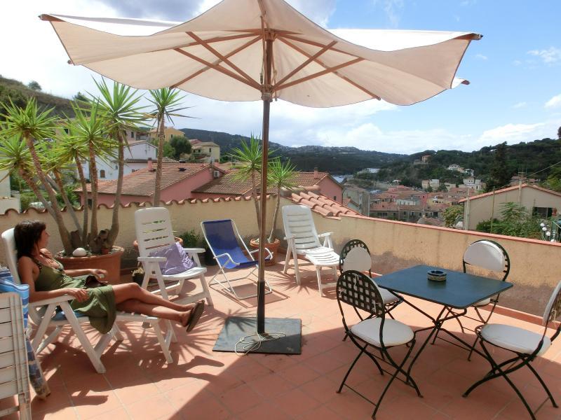Terrace - Little treasure in Porto Azzurro (Elba Island) - Porto Azzurro - rentals