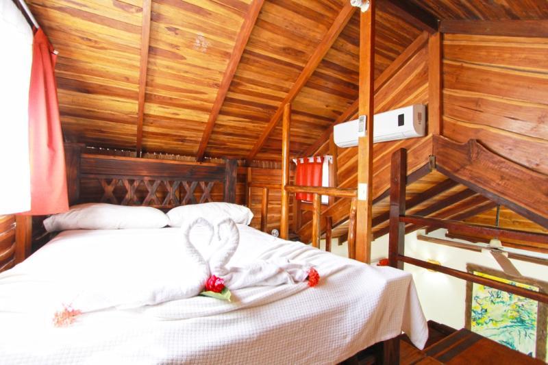 Garden Bungalow - Full Sized Bed in Loft - Bungalow with Garden View in Beachfront Property - Santa Teresa - rentals
