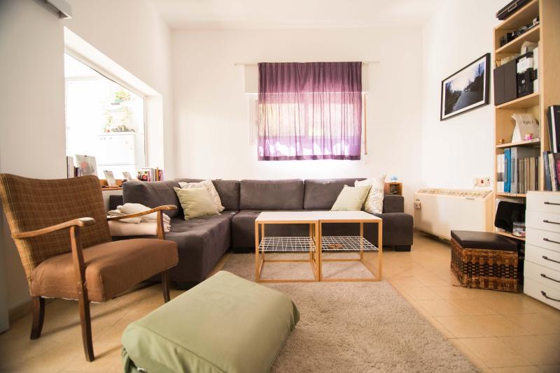 stylish super central 1br apartment - Image 1 - Gedera - rentals