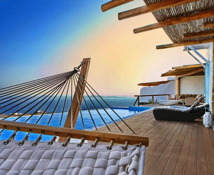 Blue Villas | Urania | Breathtaking view and style - Image 1 - Mykonos Town - rentals