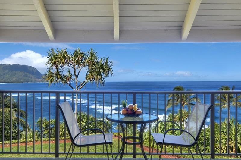 Our lanai offers one of the best views in Hawaii - Magnificent Oceanfront condo in Princeville - Princeville - rentals