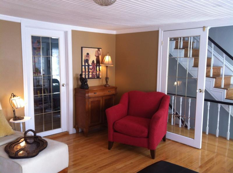 Living Room - Downtown Living in an Authentic Row House! - Saint John's - rentals