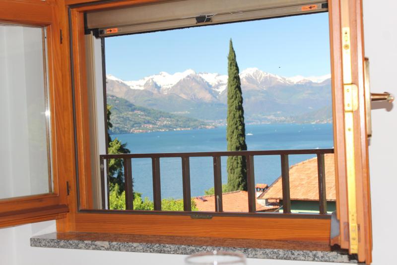 beautiful lake view from apartment - Casa Nicoletta Apartment 2-4 sleeps - Bellagio - rentals