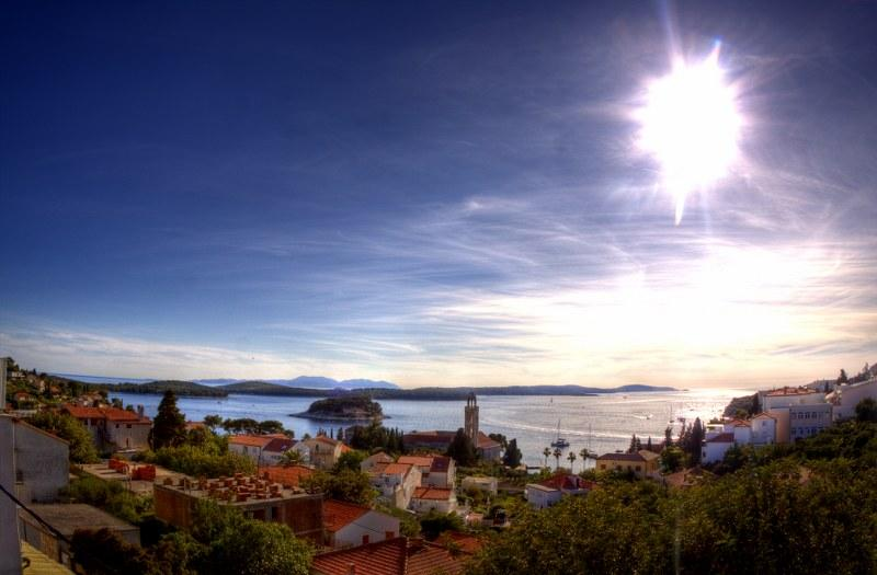 View from the balcony - Luxury apartment - Hvar - rentals