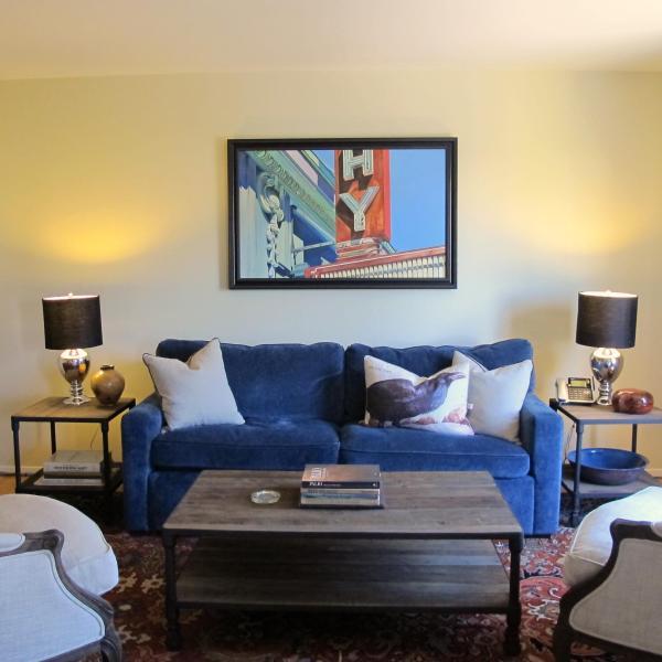 Living Room - 1 BR-Heart Of Cow Hollow/Marina - San Francisco - rentals