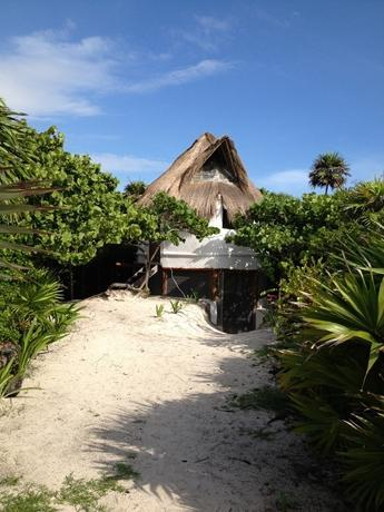 Cabaña on the Beach of peacefull Tulum - Image 1 - Tulum - rentals