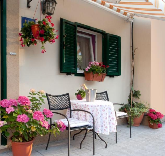 Terrace - Luxury apartment in center - Split - rentals
