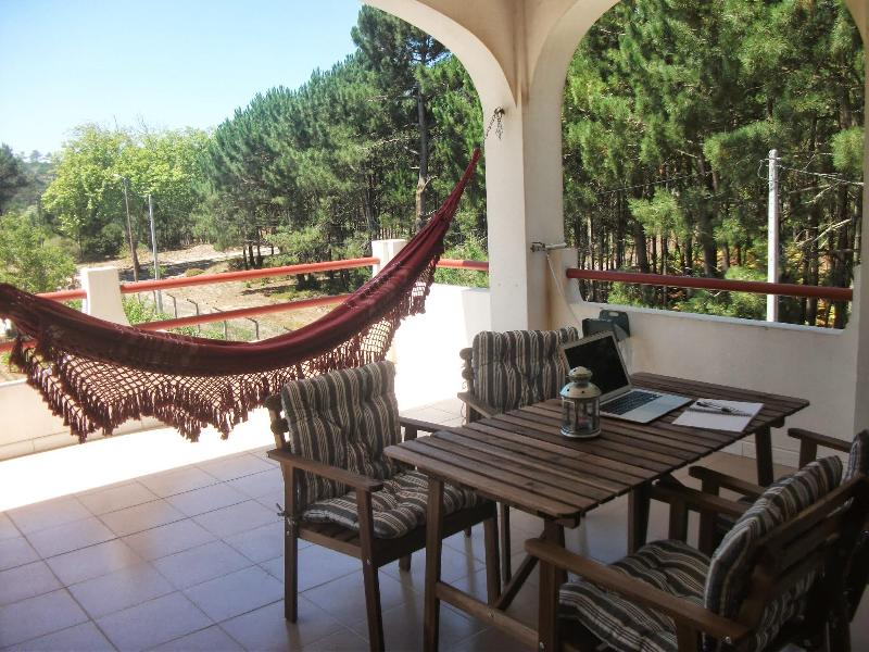 Relaxing terrace - Spacius apartment (Quinta das Nogueiras 12378) - Foz do Arelho - rentals