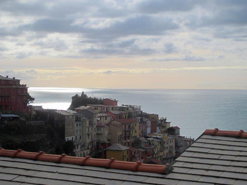 view from the terrace - Casa del Duomo - Manarola - rentals