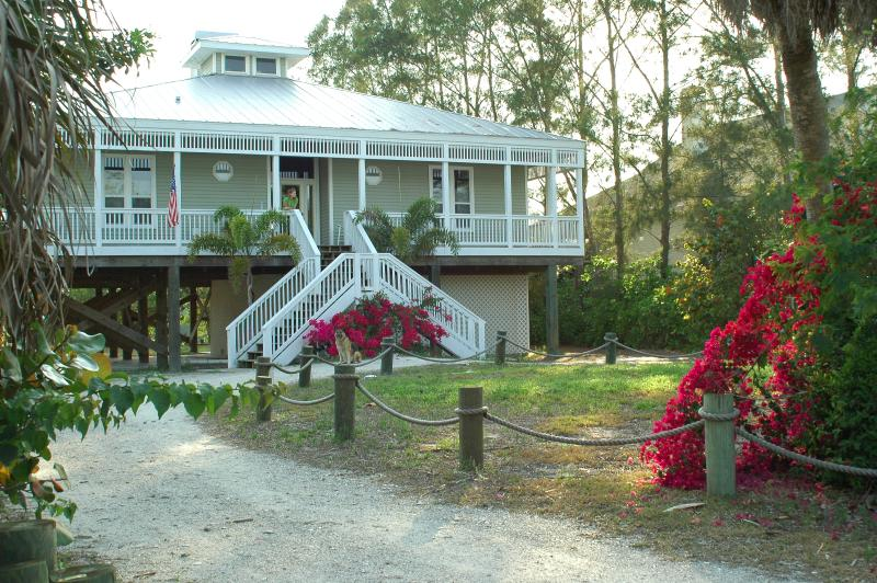 Turtle Landing - Beautiful Barrier Island Beach House with New Pool, Spa and Dock - Englewood - rentals