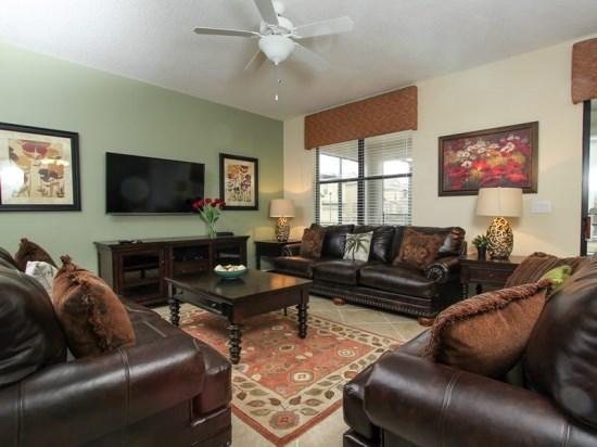 9 Bedroom ChampionsGate Home That Sleeps 22 Guests. 1427MVD - Image 1 - Orlando - rentals