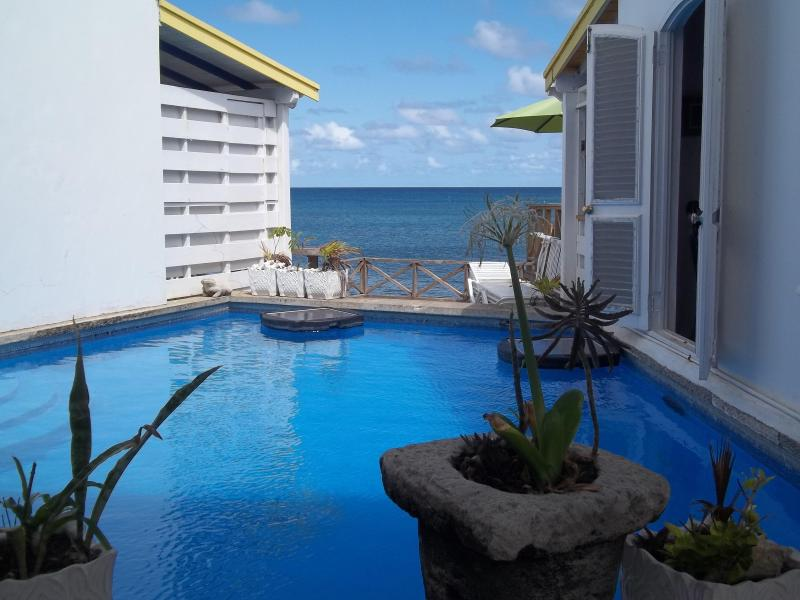 view of the ocean from the pool - Keyhouse Dieppe Bay - Saint Kitts and Nevis - rentals