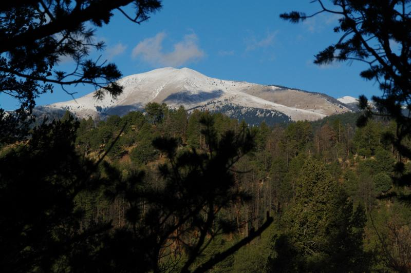 View from deck and living room - Upper Canyon - Amazing Views Of Sierra Blanca! - Ruidoso - rentals