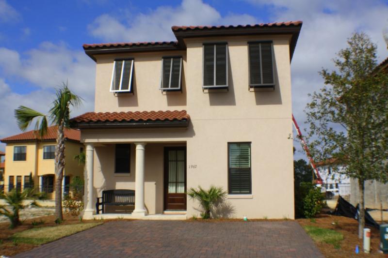 Exterior of Home, Brand New Construction - Sandestin beach house , sleeps 8 , Baytowne Wharf - Sandestin - rentals