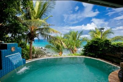 1 Bedroom Beachfront Villa on Nail Bay - Image 1 - Nail Bay - rentals