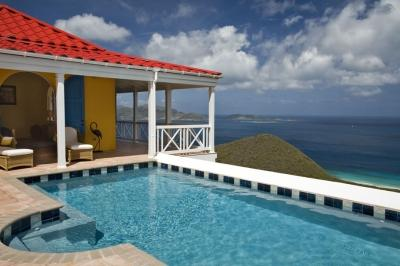 3 Bedroom Villa with Panoramic View in Tortola - Image 1 - Tortola - rentals