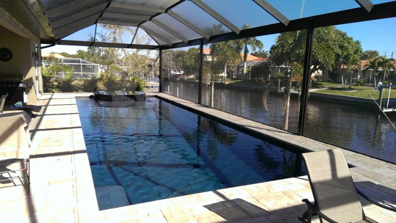 New Luxury House Aruba with 42' long Pool and Spa - Image 1 - Cape Coral - rentals