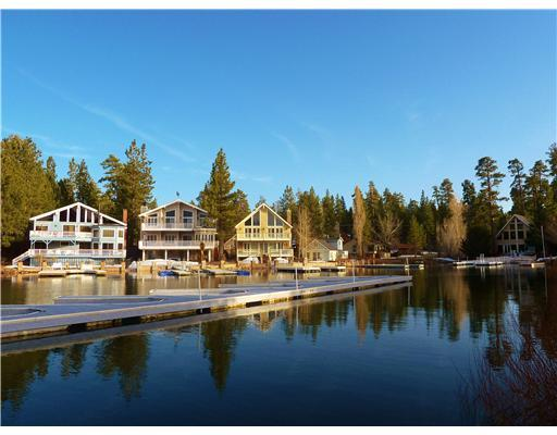 Views Looking out  on the deck from the pool/ club house! Boat Docks for Owners - Exclusive Gated Lakefront Resort! Heated indoor Pool, Spa, Sauna and Tennis! - Big Bear Lake - rentals