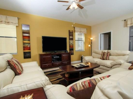 Classy 6 Bedroom 6 Bath Pool Home In ChampionsGate Golf Community. 1422MVD - Image 1 - Orlando - rentals