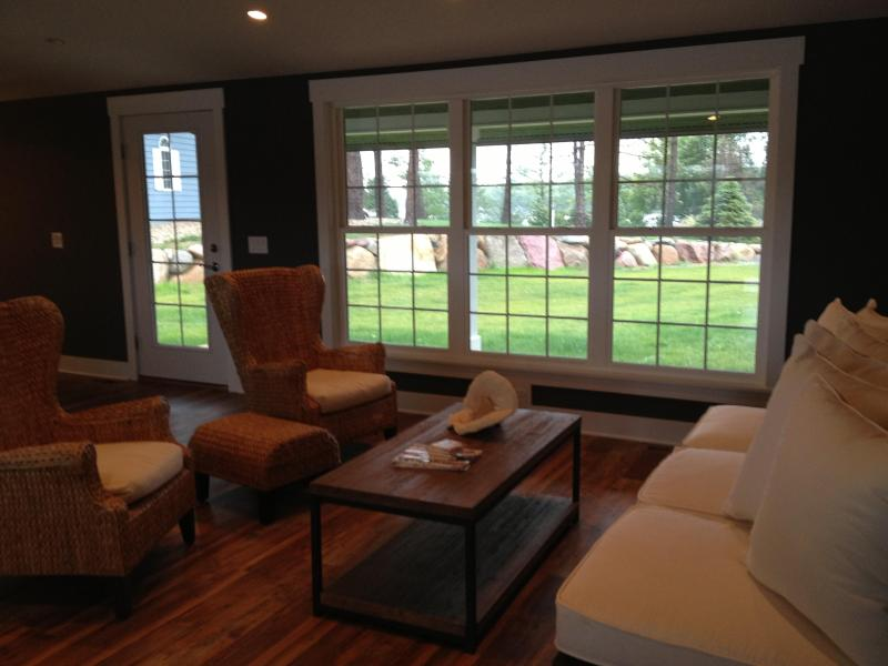 Family Room Upstairs - Beautiful Lake-home for Rent - Panora - rentals