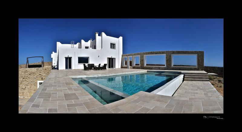 side view of the villa - Paradise Villa - Antiparos - rentals