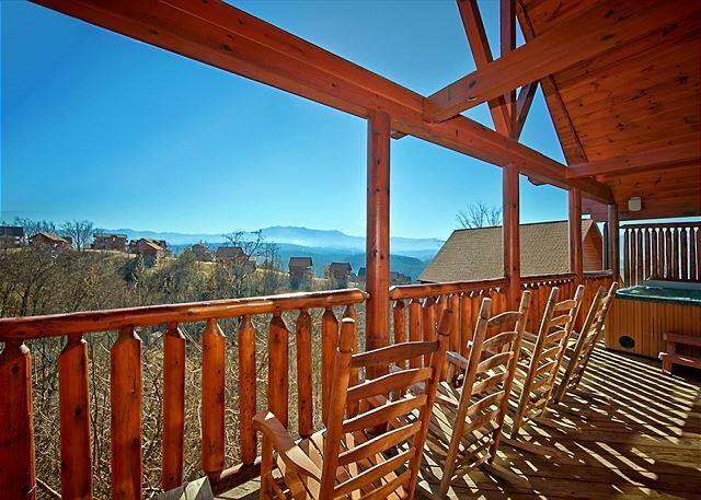 SUMMER DEAL FROM $199!!! Sleeps 12. Luxury Cabin w/ Incredible Views! - Image 1 - Pigeon Forge - rentals