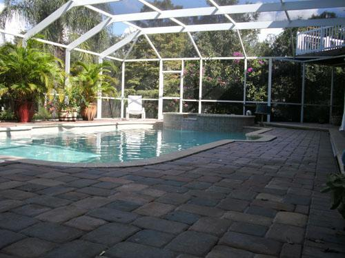 "Pool and patio area - Sarasota Florida So Serene. Quiet getaway, minutes from any ""action"" you may want. - Sarasota - rentals"
