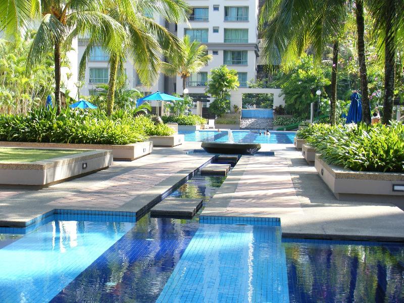 Pool Terrace - Miami Tropical Home @ Batu Ferringhi - Batu Ferringhi - rentals