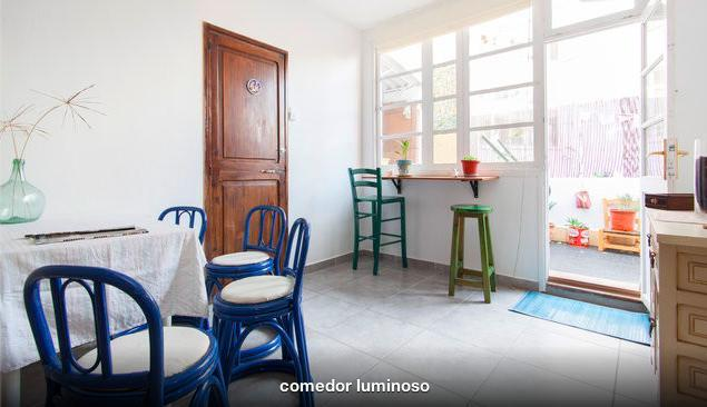 bright dining room - charming apartment with terrace - Palma de Mallorca - rentals