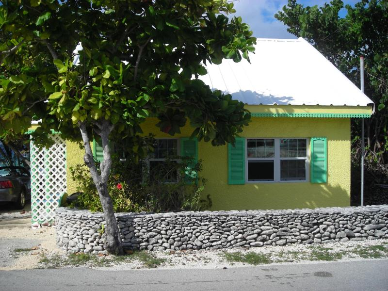 View from the road - 29 Palms - Cayman Brac - rentals